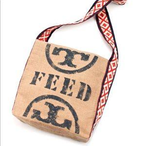 Tory Burch FEED bag Red